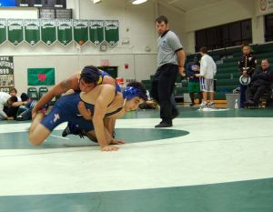 Molieri takes down his opponent